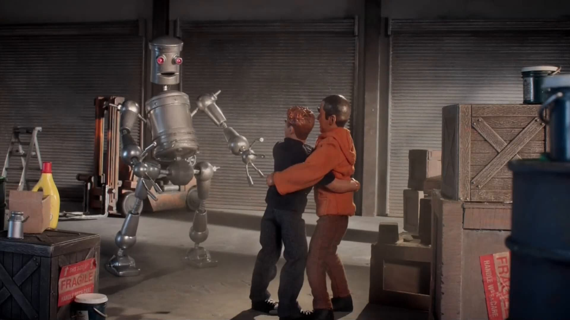 Robot Chicken Season 8 :Episode 20  The Angelic Sounds of Mike Giggling