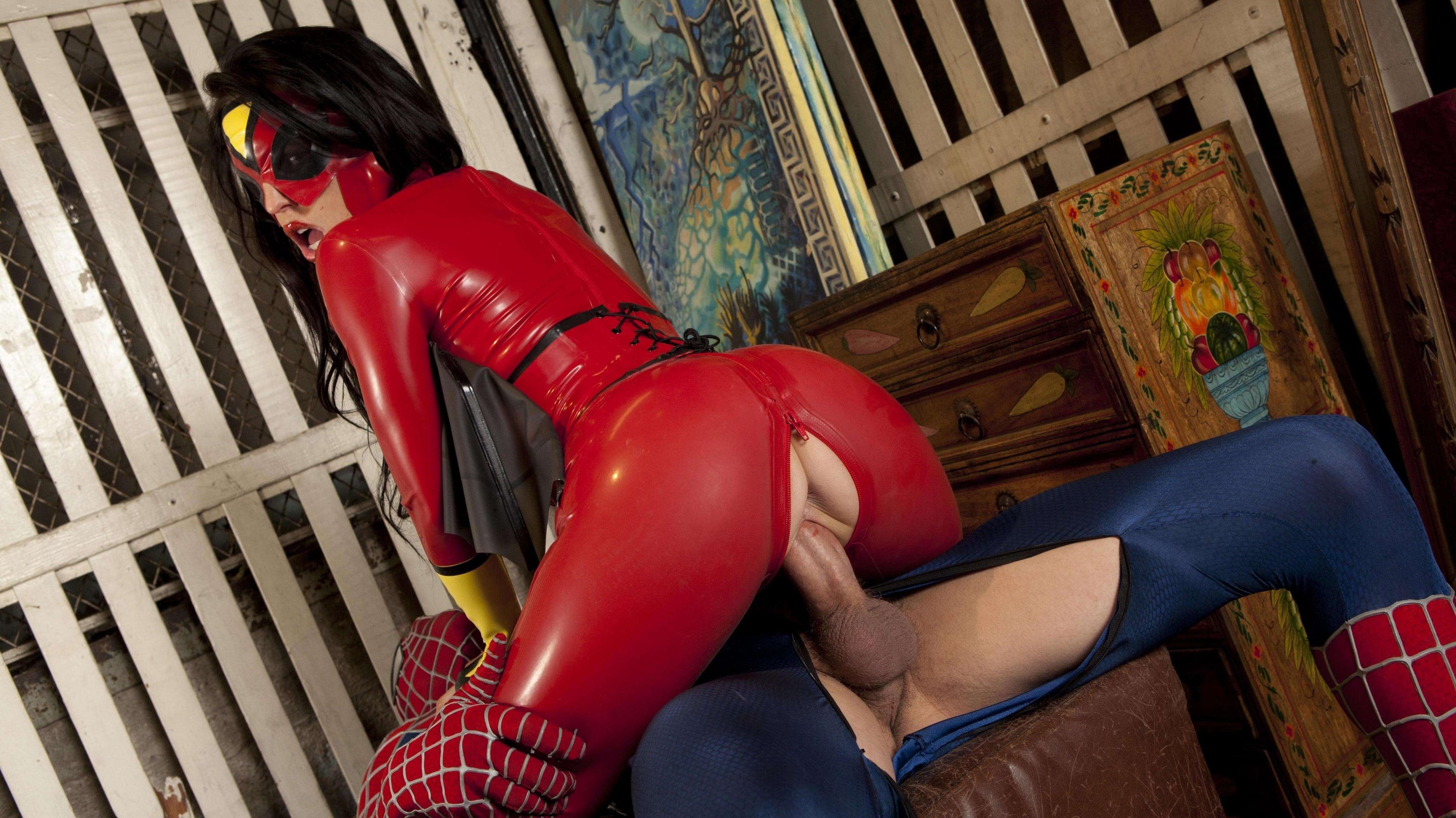 Супермен против человека паука порно пародия