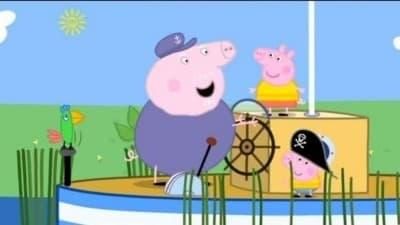 Peppa Pig Season 3 :Episode 11  Polly's Boat Trip