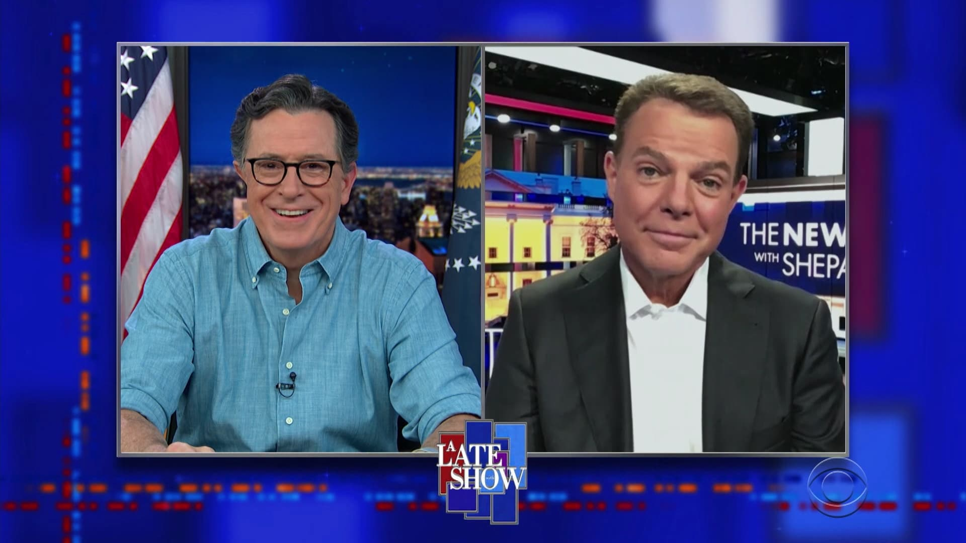 The Late Show with Stephen Colbert Season 6 :Episode 30  Shepard Smith, Leon Bridges, Lucky Daye