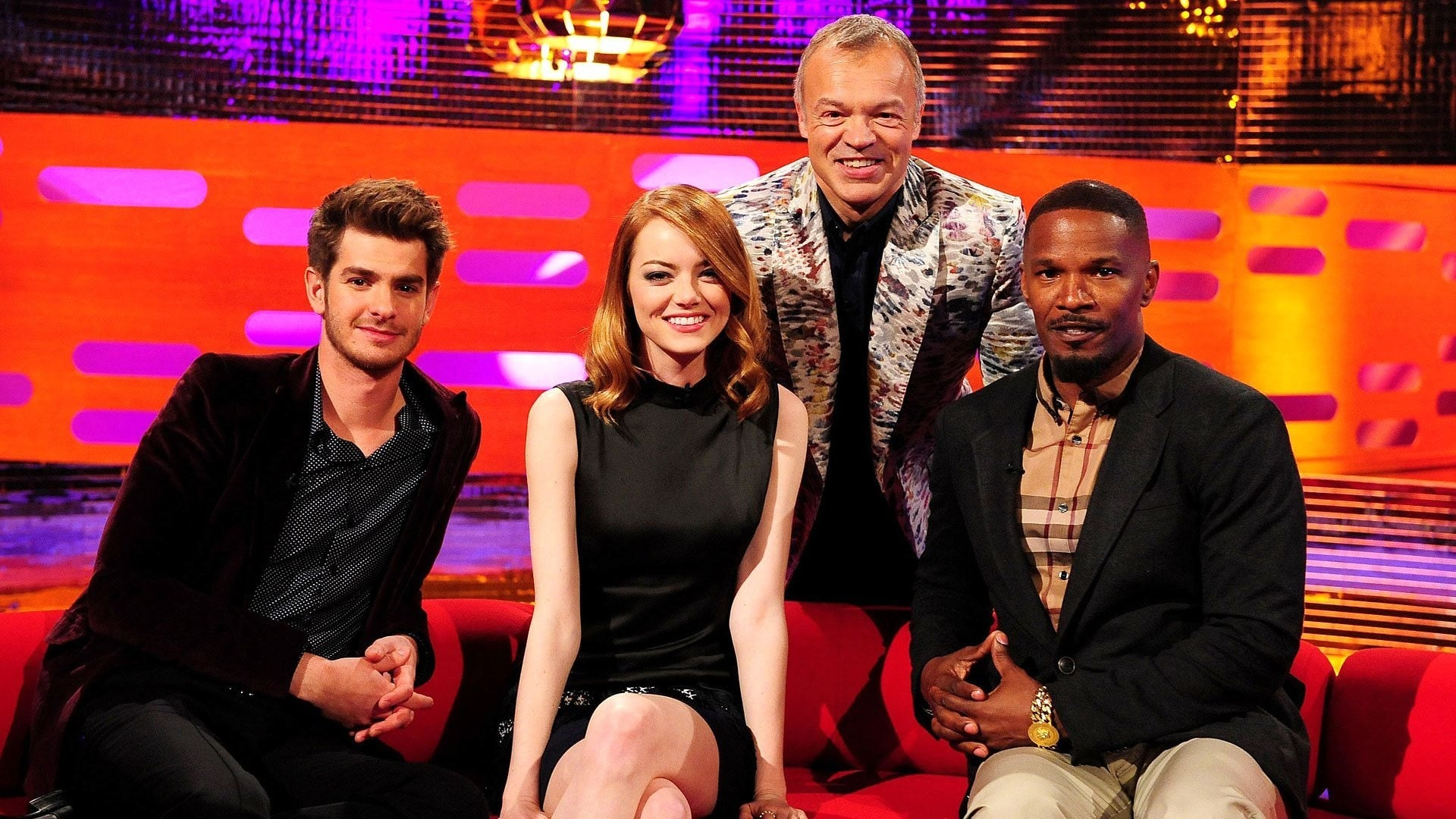 The Graham Norton Show Season 15 :Episode 2  Andrew Garfield, Emma Stone, Jamie Foxx, Paolo Nutini