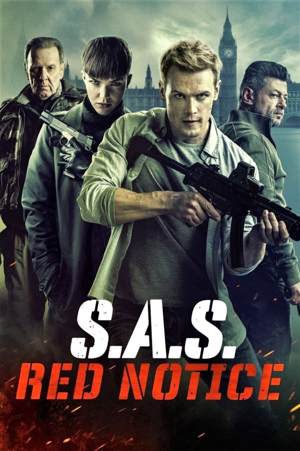 Poster and image movie SAS: Red Notice