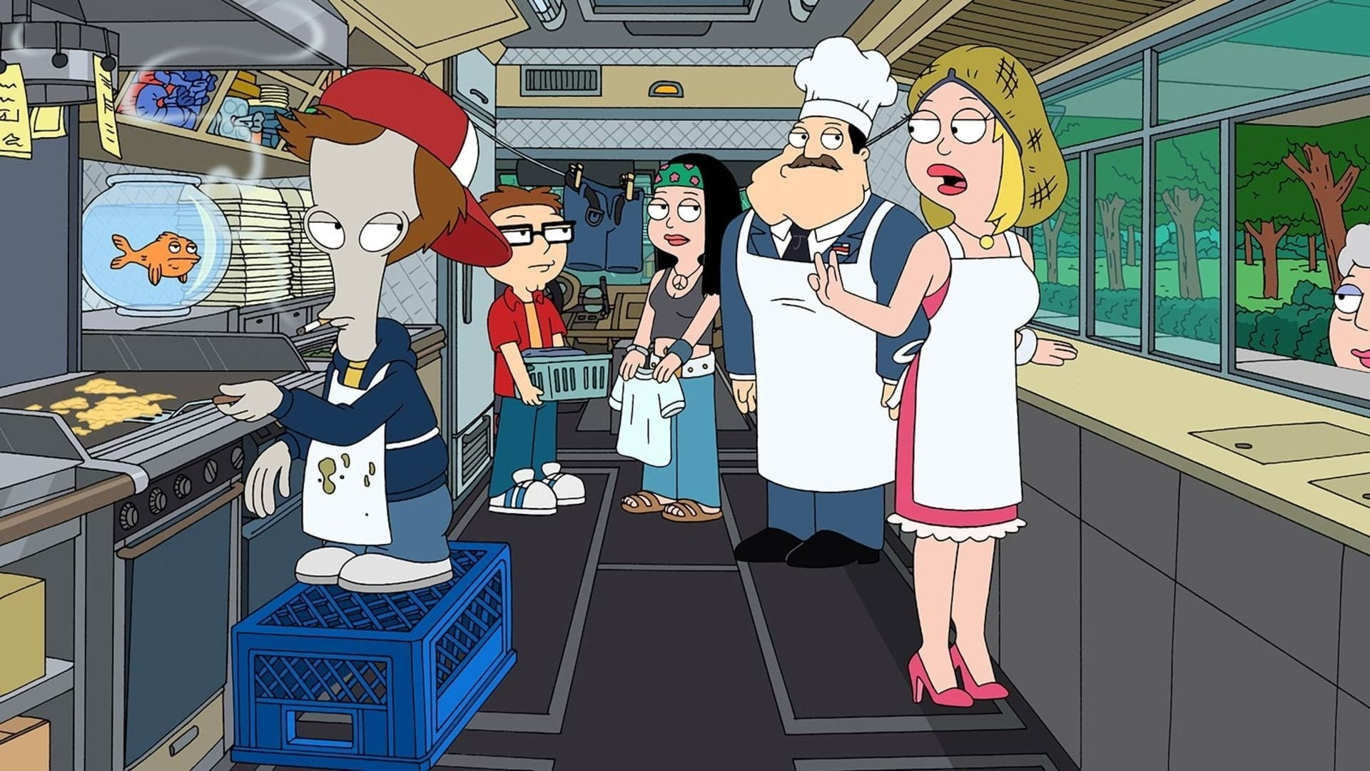American Dad! - Season 6 Episode 17 : An Incident at Owl Creek