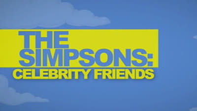 The Simpsons Season 0 :Episode 60  Celebrity Friends
