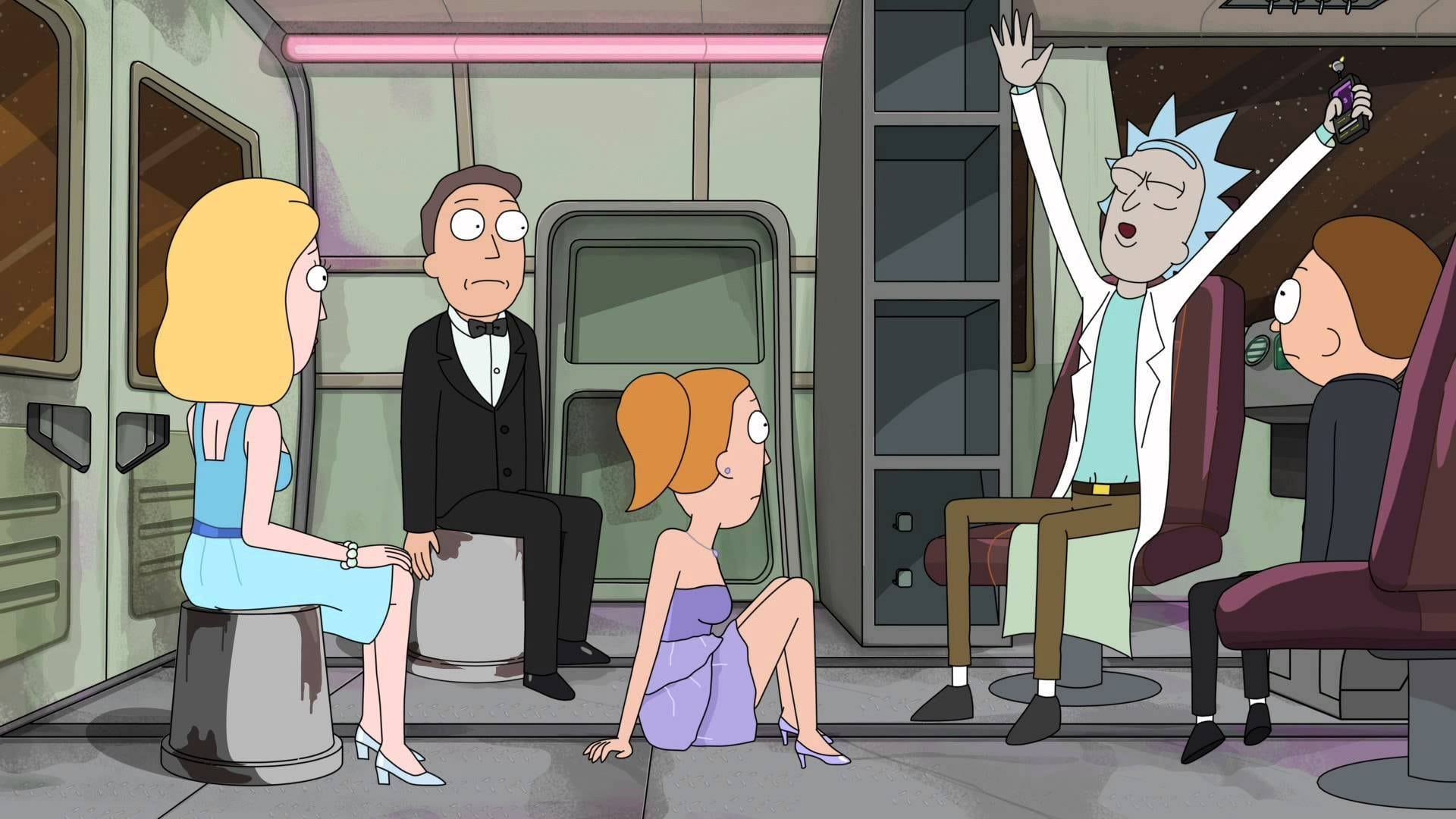 Rick and Morty Season 2 :Episode 10  The Wedding Squanchers