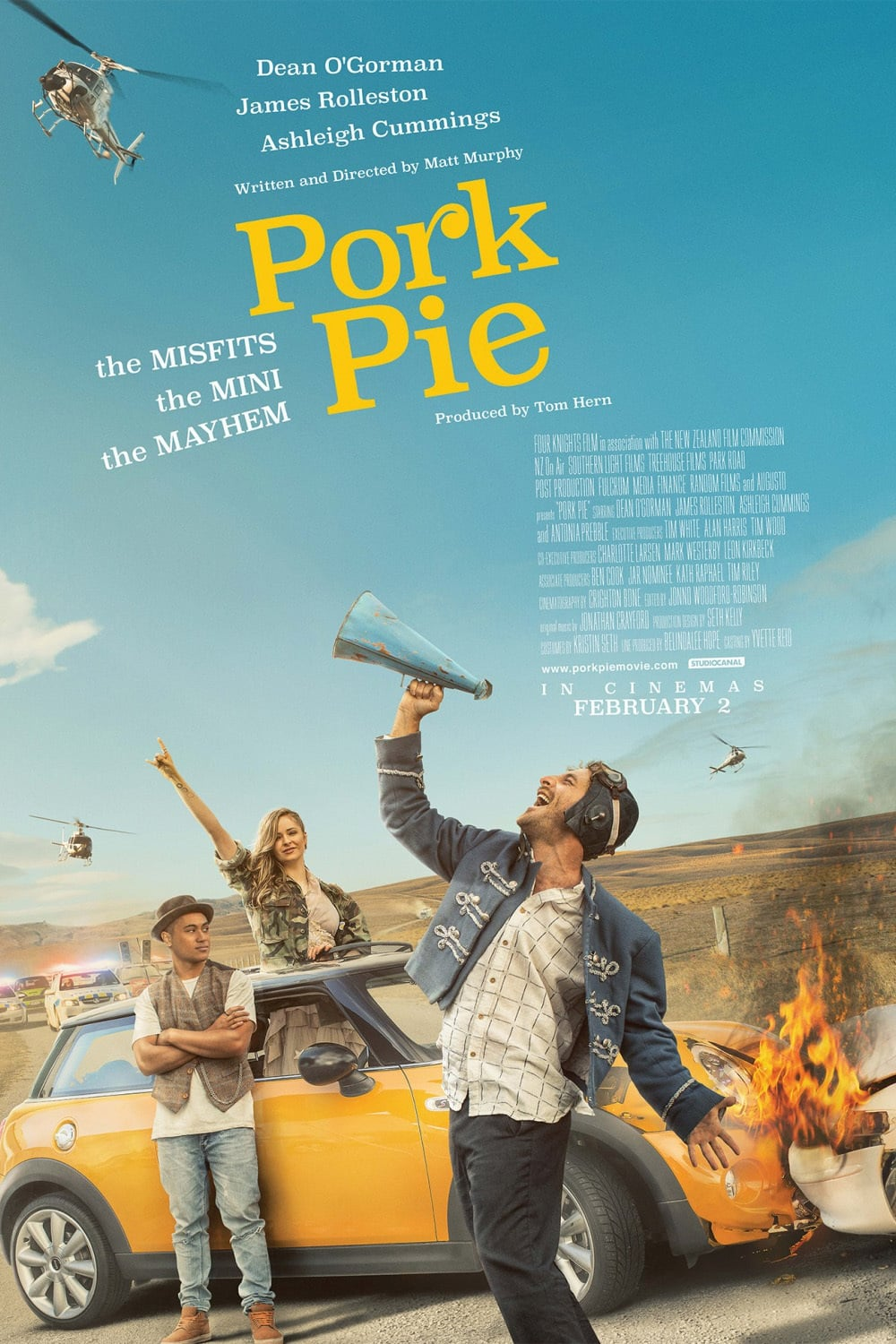 Pork Pie (2017) Bluray