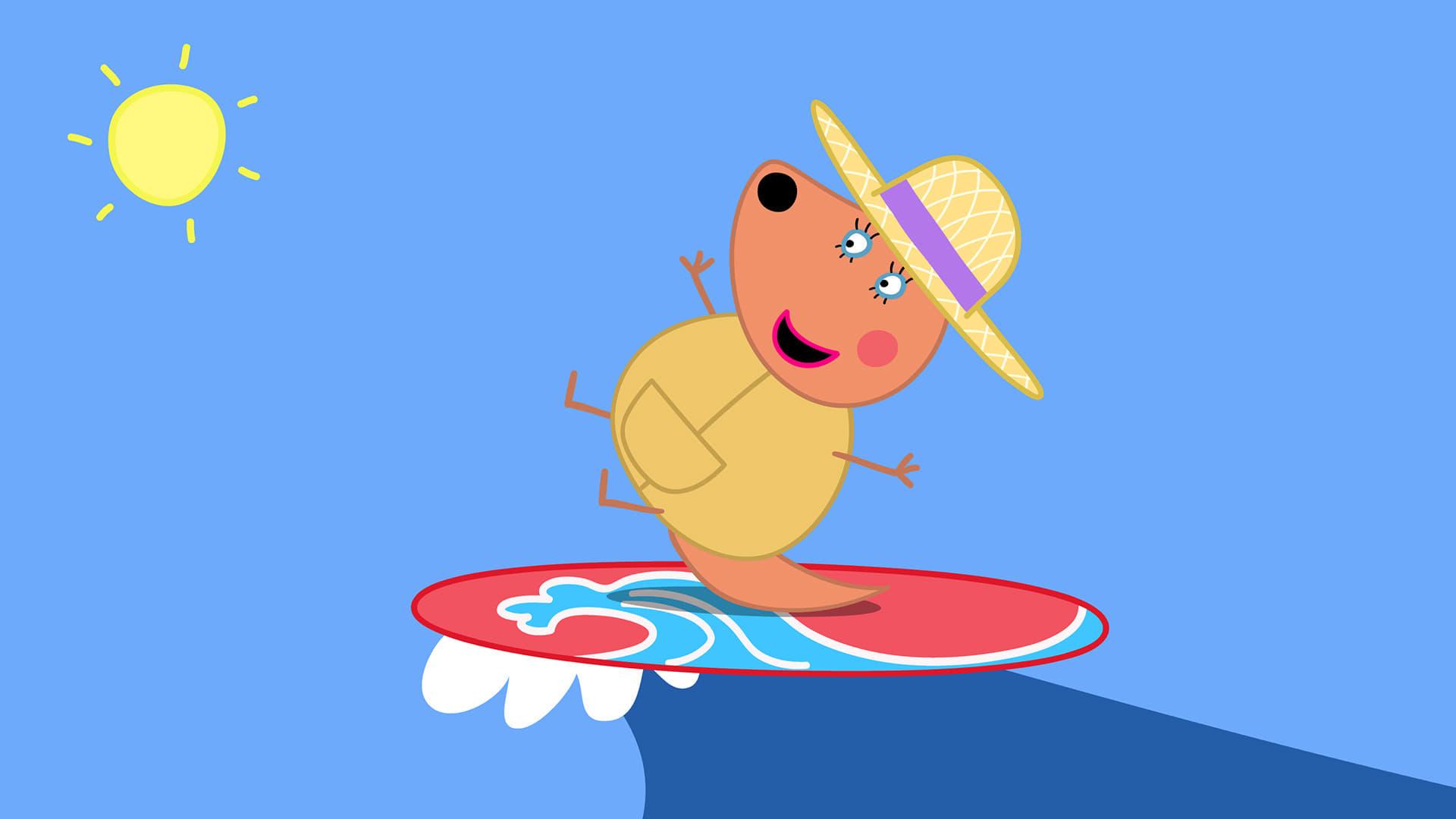 Peppa Pig Season 5 :Episode 20  Australia Part 2 - Surfing