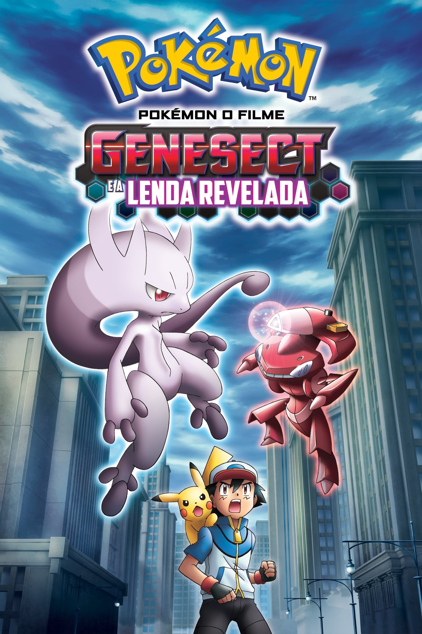 Pokémon O Filme – Genesect e a Lenda Revelada (2014) Bluray 720p Dublado Torrent