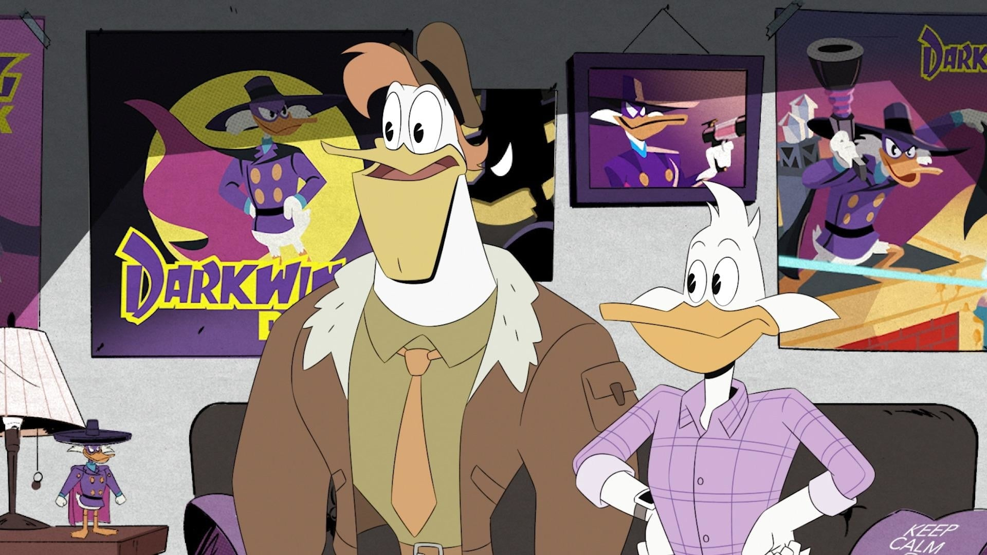 DuckTales Season 2 :Episode 16  The Duck Knight Returns!