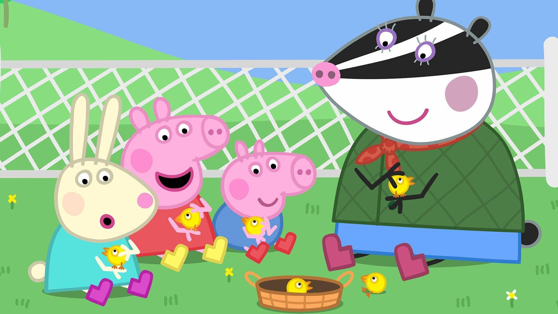 Peppa Pig Season 6 :Episode 18  The Petting Farm