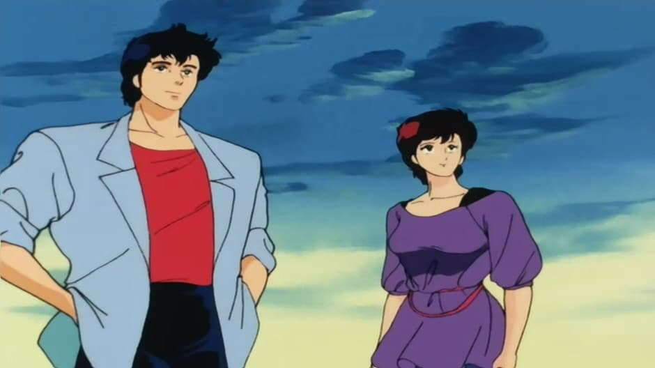 City Hunter Ryo S Rival In Love Give Me Kaori 1987 Backdrops
