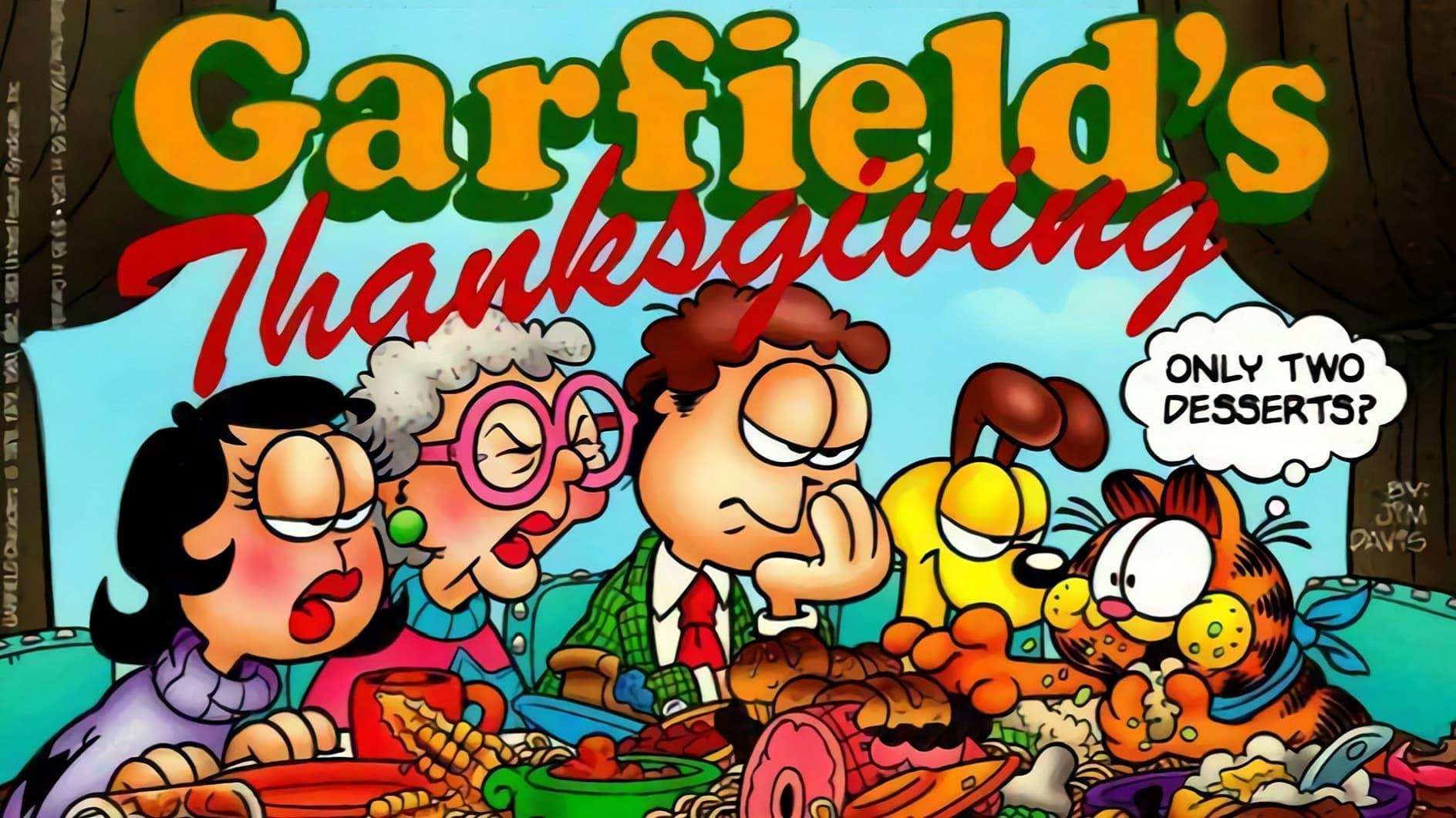 Garfield Especial de Accion de Gracias