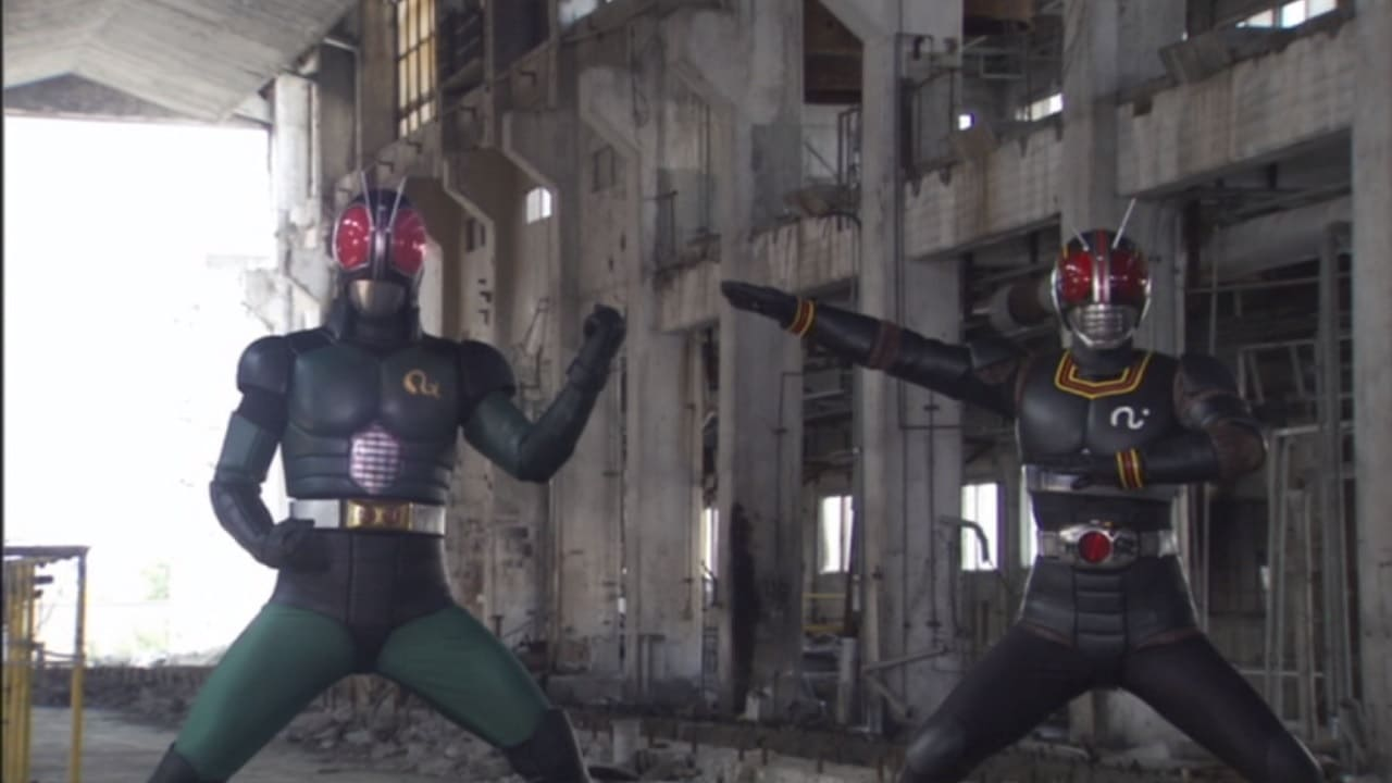 Kamen Rider Season 19 :Episode 27  Black × Black RX
