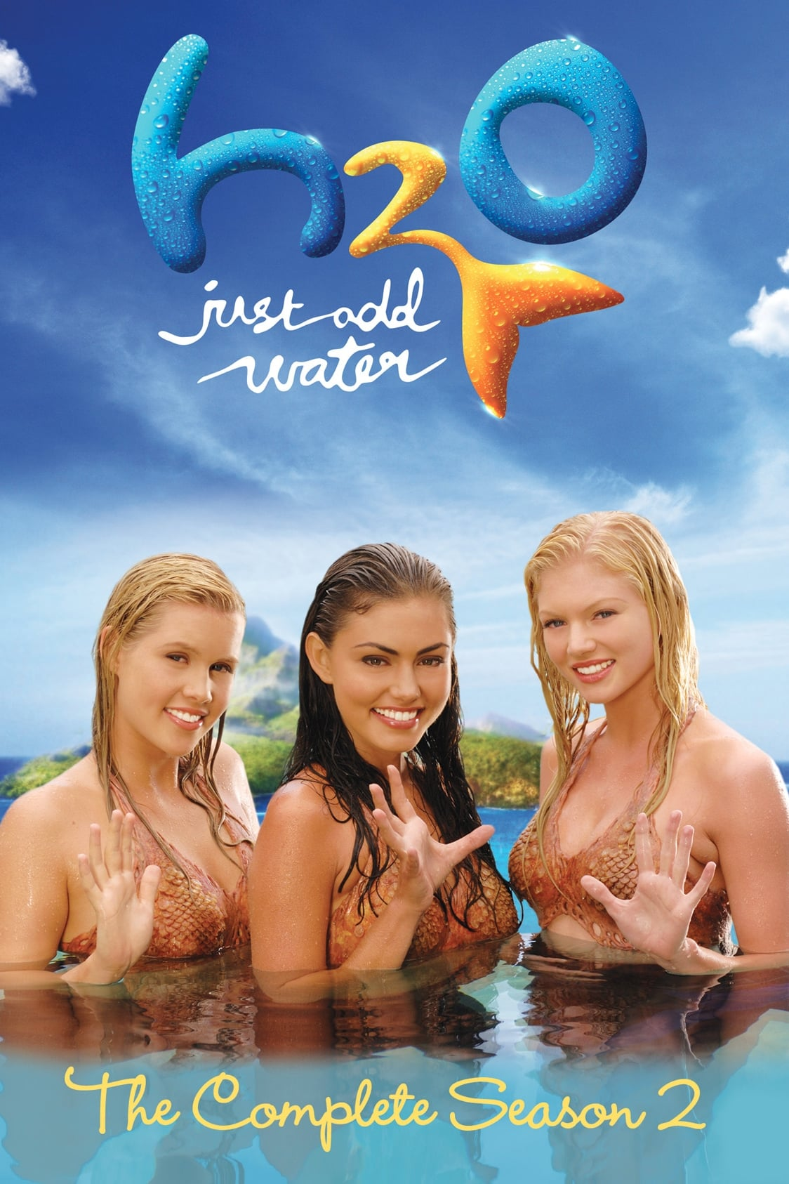 H2o just add water tv series 2006 2010 posters the for H2o seasons