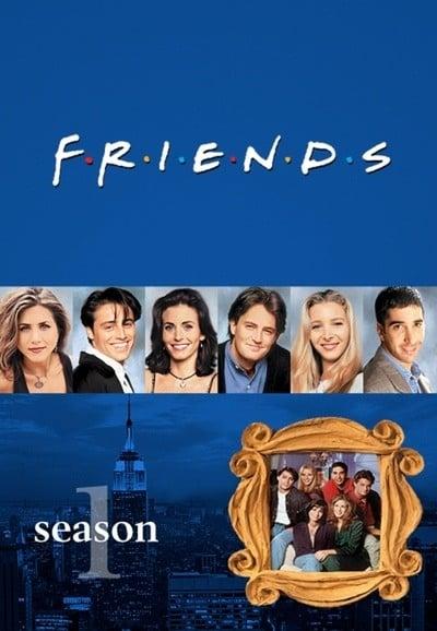 Draugai 1 Sezonas / Friends Season 1 serialas online nemokamai