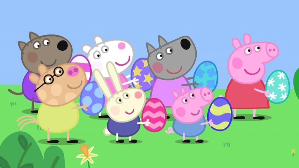 Peppa Pig Season 5 :Episode 8  Easter Bunny
