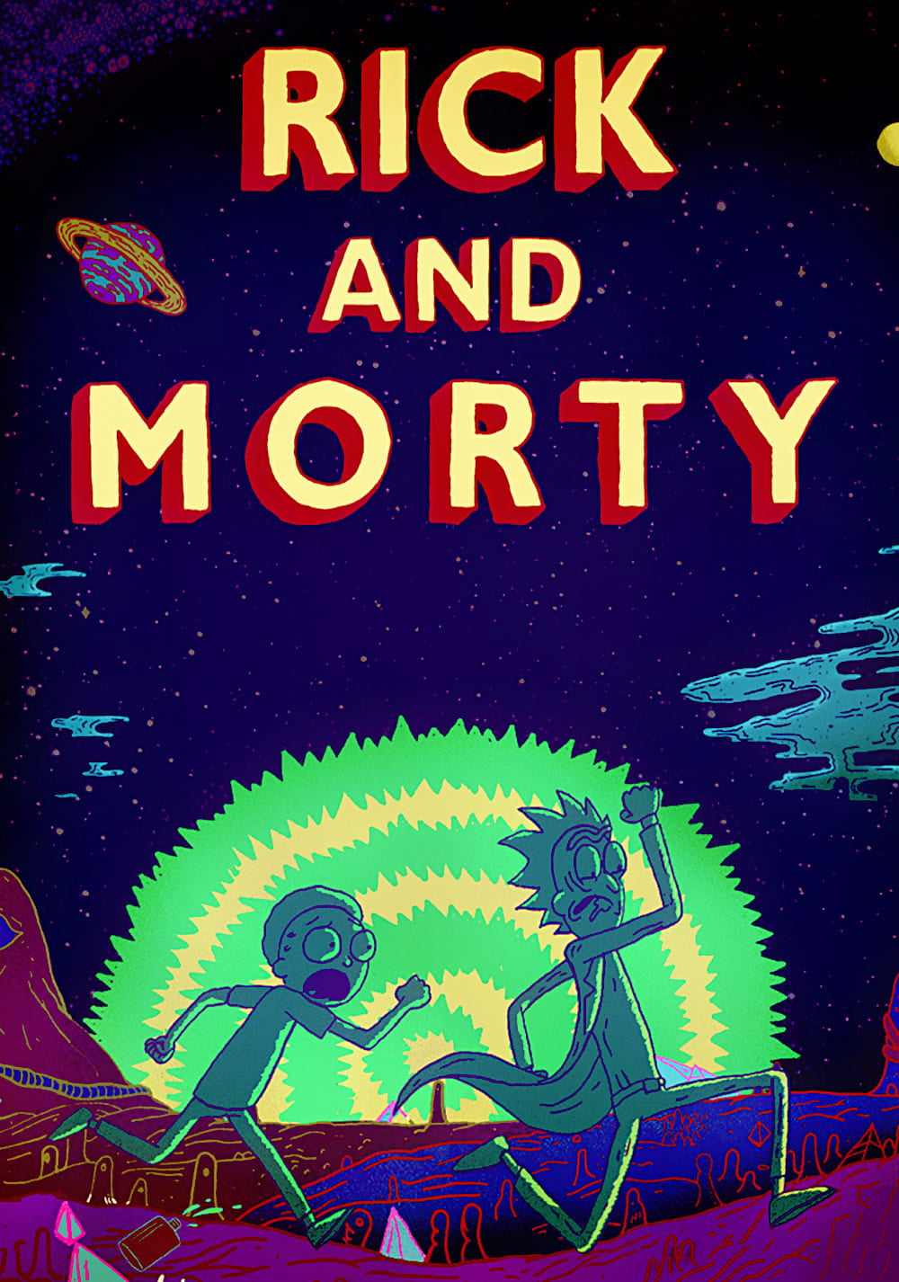 Rick and Morty 2ª Temporada Dual Áudio