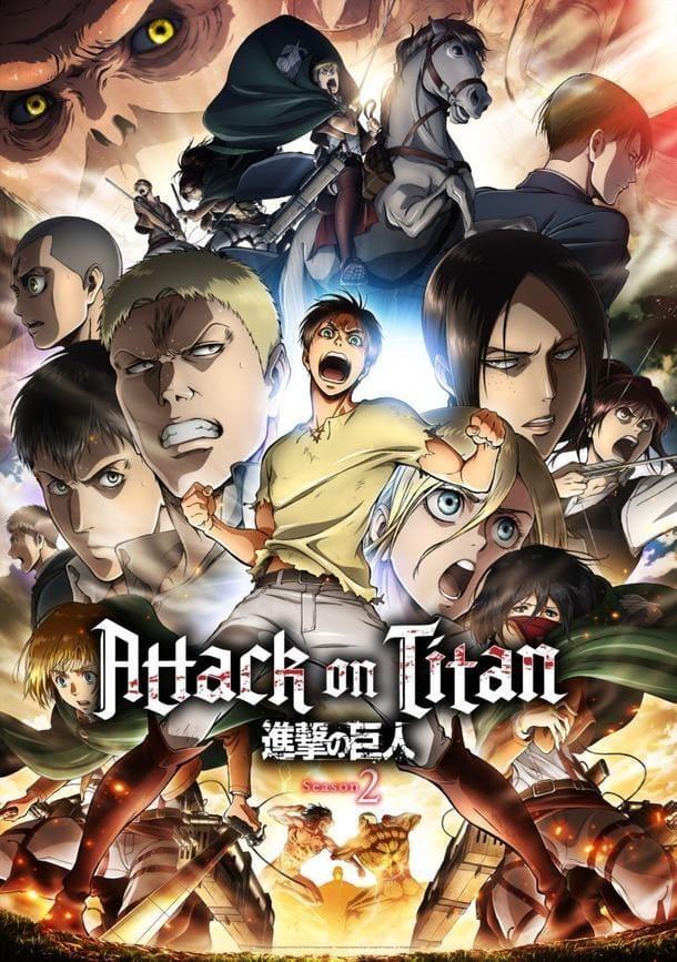 Titanų medžioklė (2 Sezonas) / Attack on Titan / Shingeki no kyojin (Season 2) (2017)