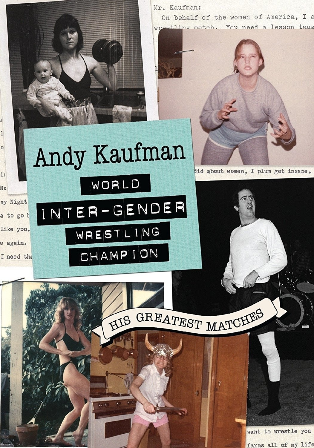 Ver Andy Kaufman World Inter-Gender Wrestling Champion: His Greatest Matches Online HD Español ()