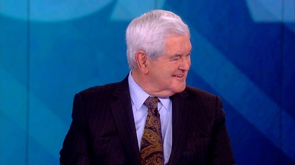 The View Season 22 :Episode 148  Newt Gingrich