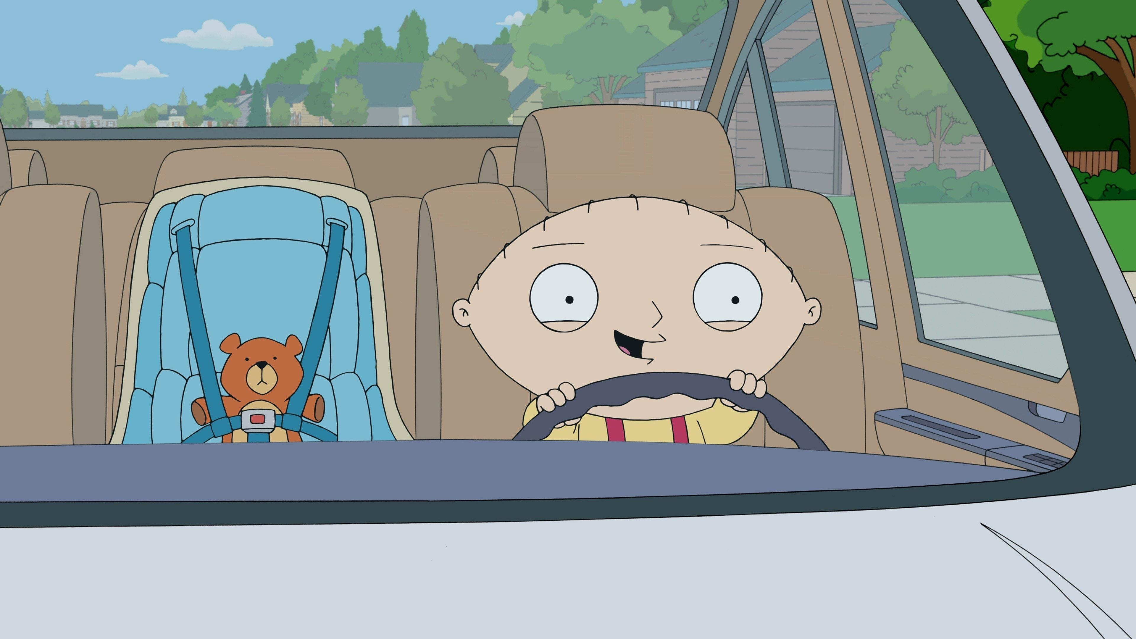 Family Guy - Season 10 Episode 4 : Stewie Goes for a Drive