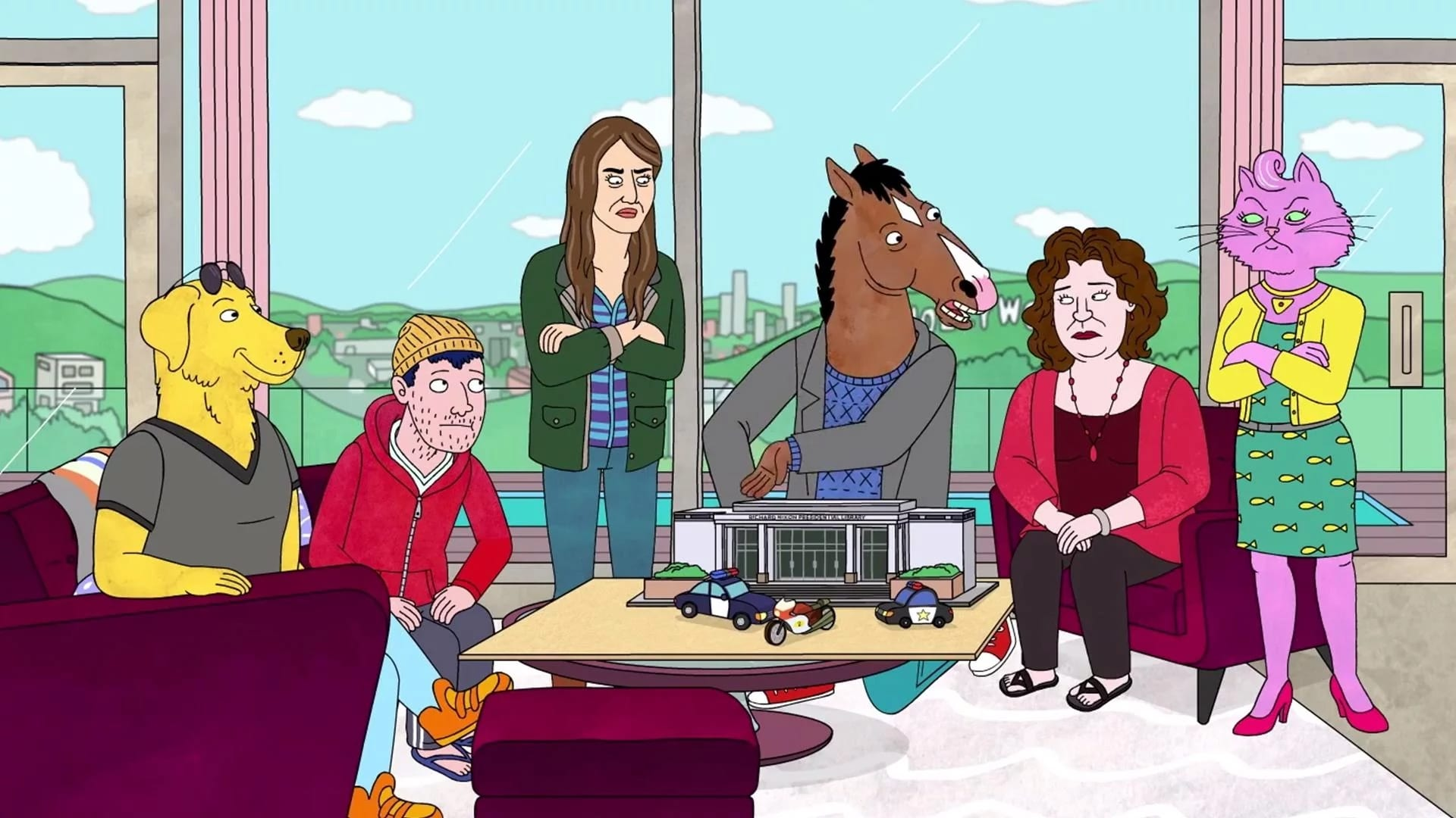 BoJack Horseman Season 2 :Episode 9  The Shot
