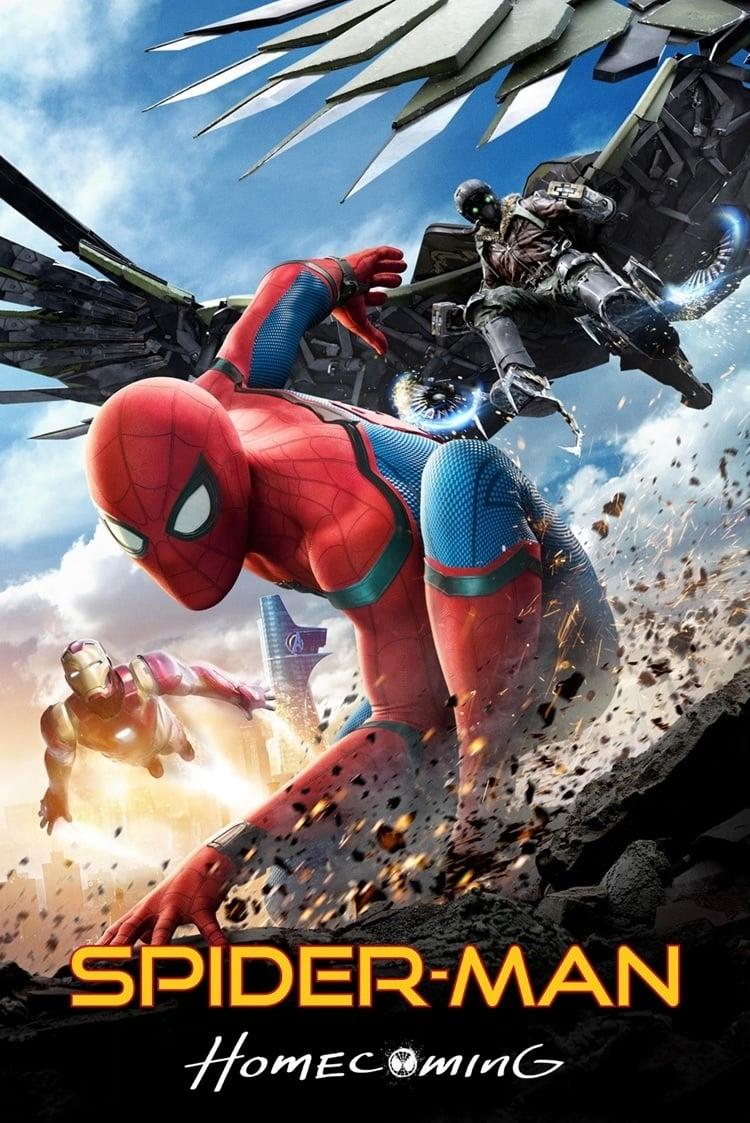 SPIDER-MAN DE REGRESO A CASA (2017) HD 1080P LATINO/INGLES