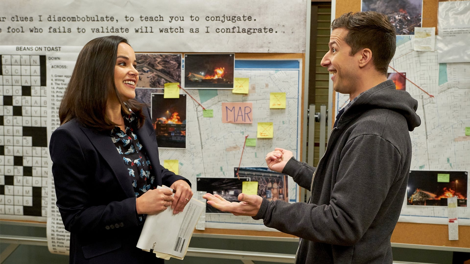 Brooklyn Nine-Nine - Season 5 Episode 15 : The Puzzle Master