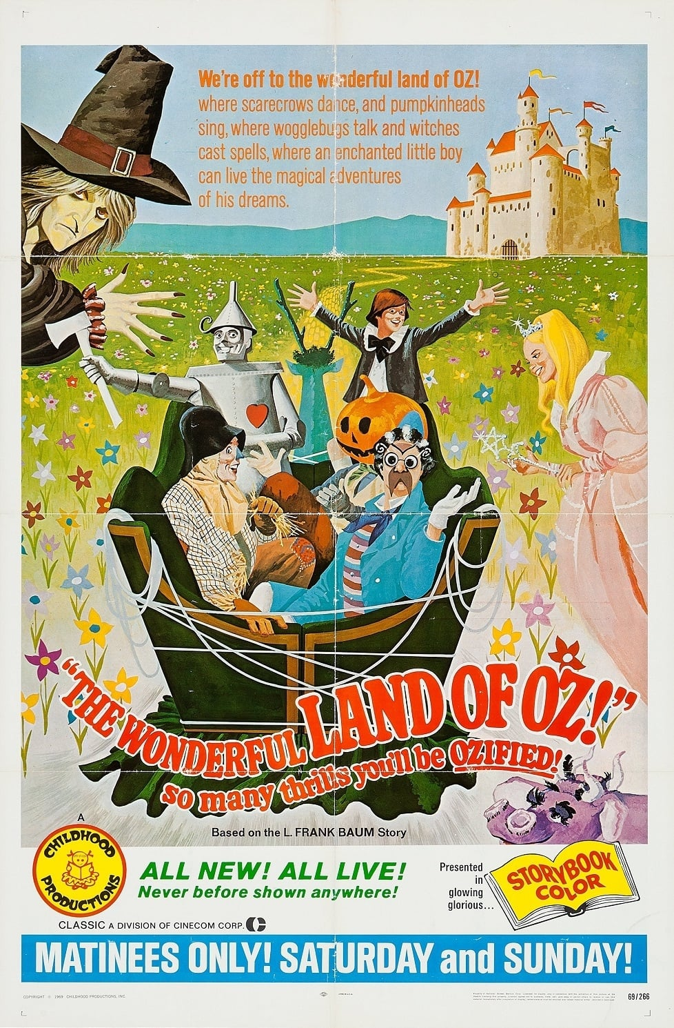 The Wonderful Land of Oz (1969)
