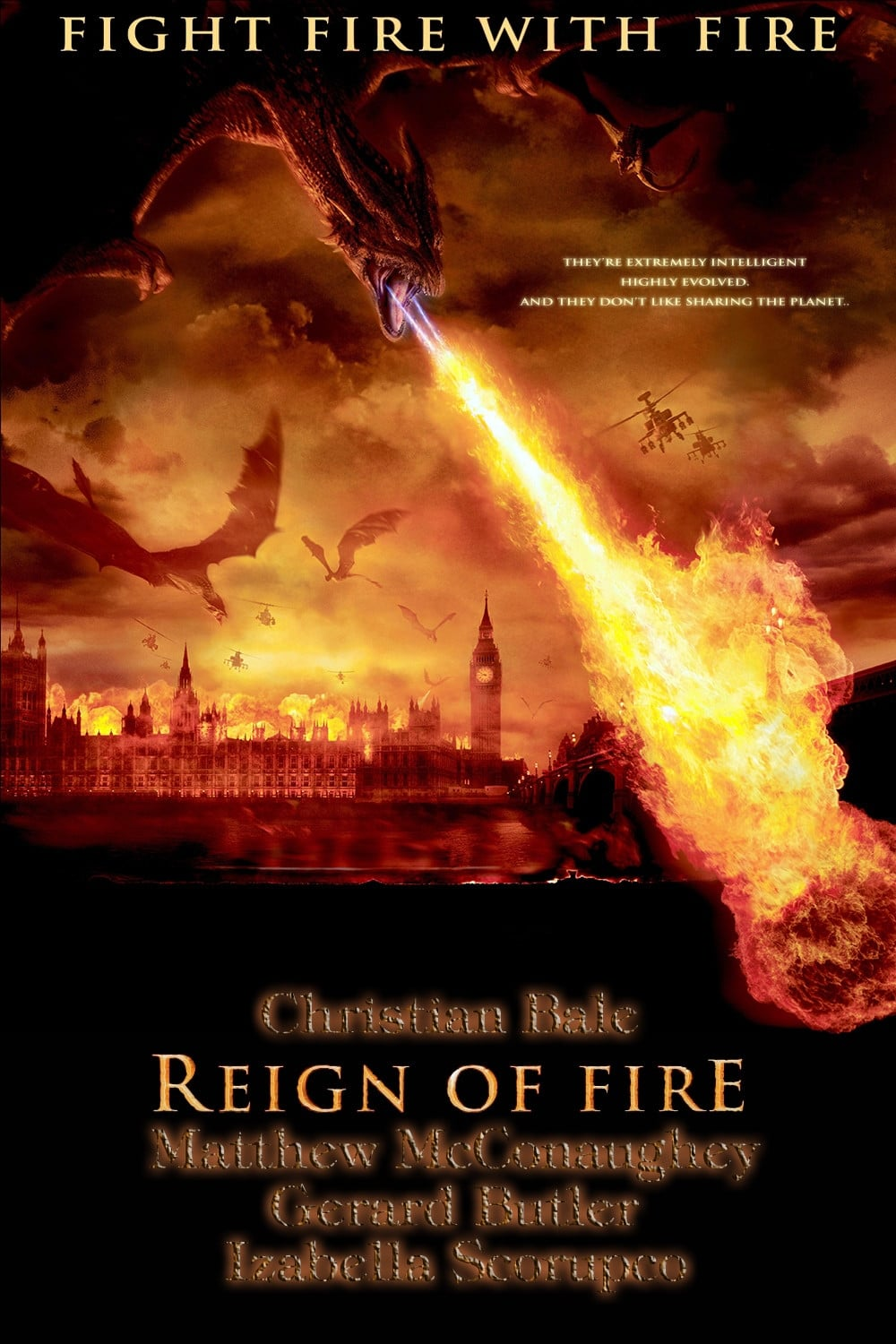 Reign Of Fire 2002 Posters The Movie Database Tmdb