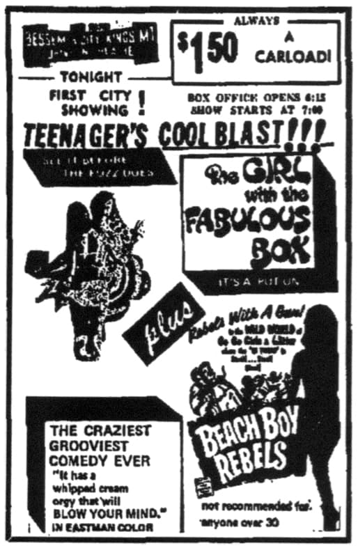 The Girl with the Fabulous Box (1969)