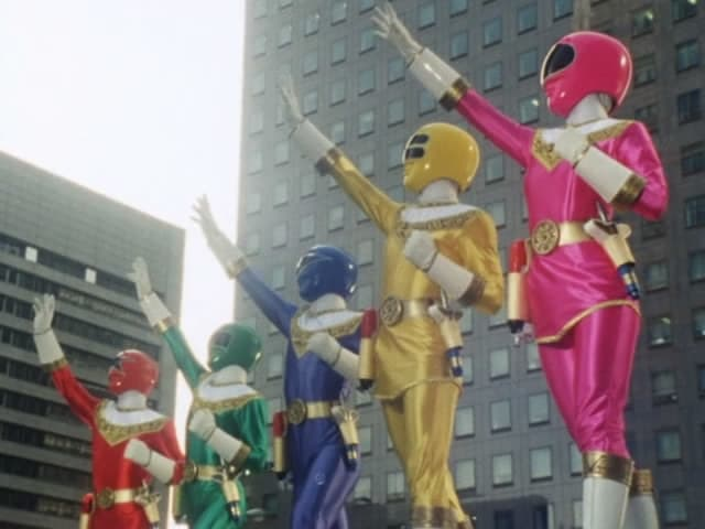 Super Sentai Season 19 :Episode 2  Assemble!! Chōriki Sentai!