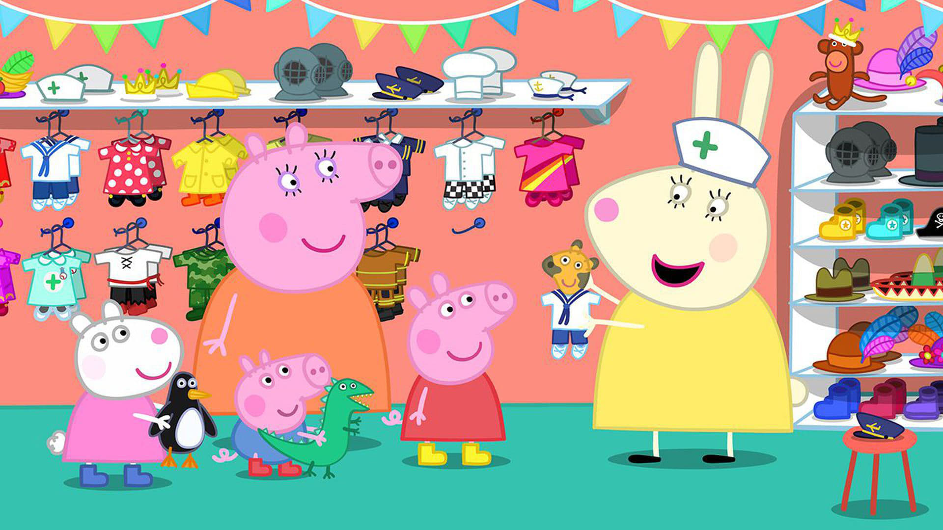 Peppa Pig The Doll Hospital 2017 Backdrops Stills The Movie