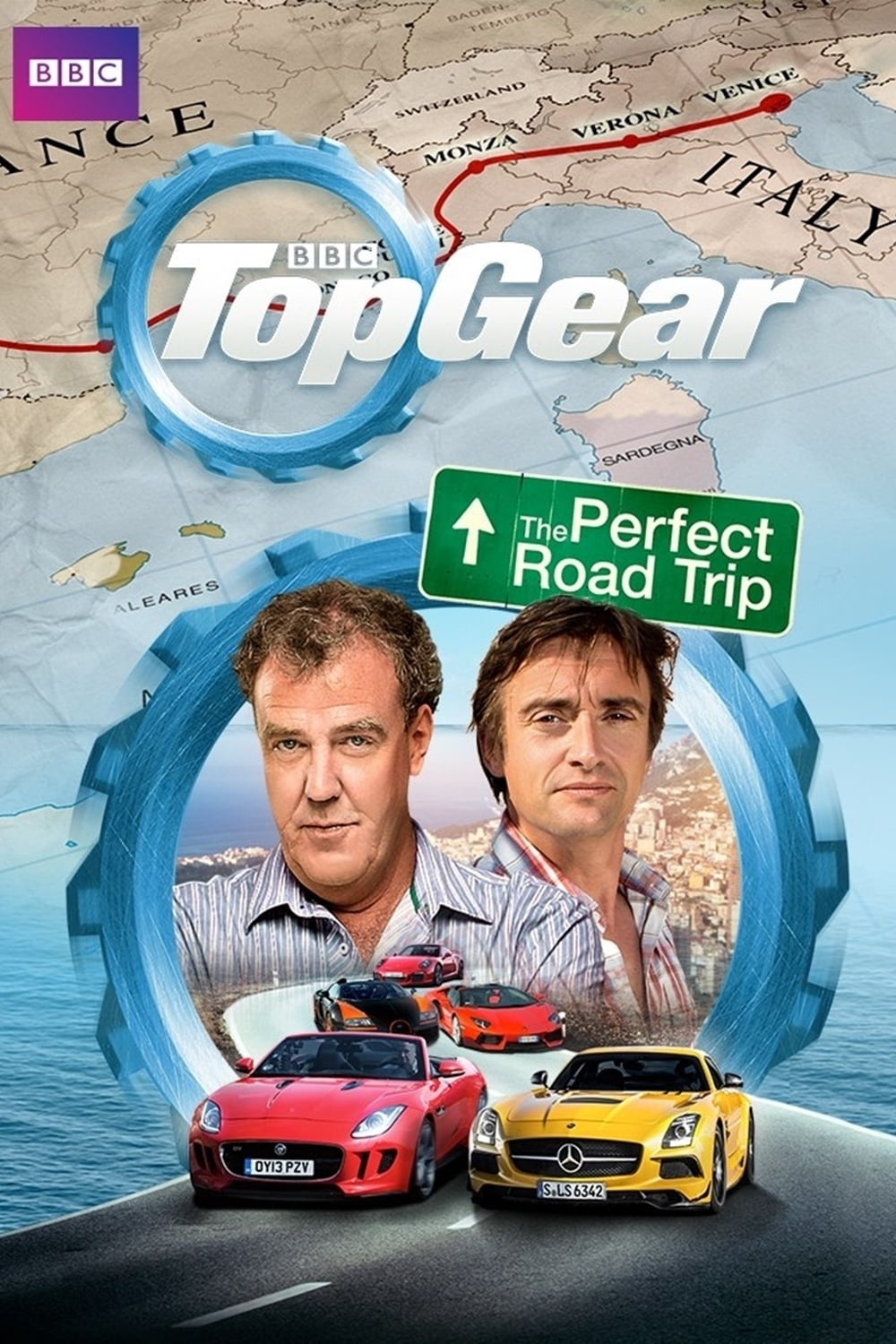 top gear the perfect road trip collection 2013 2014 posters the movie database tmdb. Black Bedroom Furniture Sets. Home Design Ideas