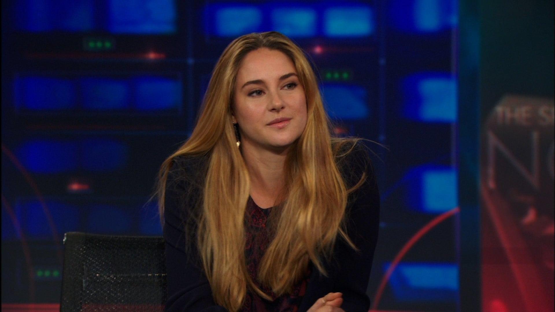 The Daily Show with Trevor Noah Season 18 :Episode 131  Shailene Woodley
