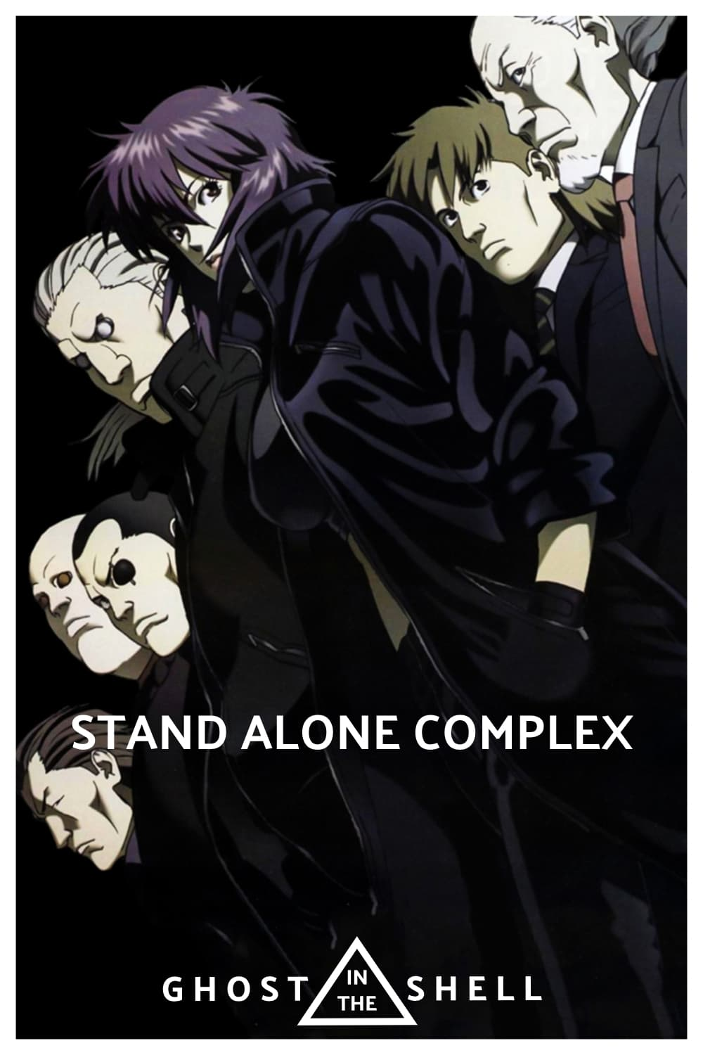 Ghost In The Shell Stand Alone Complex Collection Posters The Movie Database Tmdb