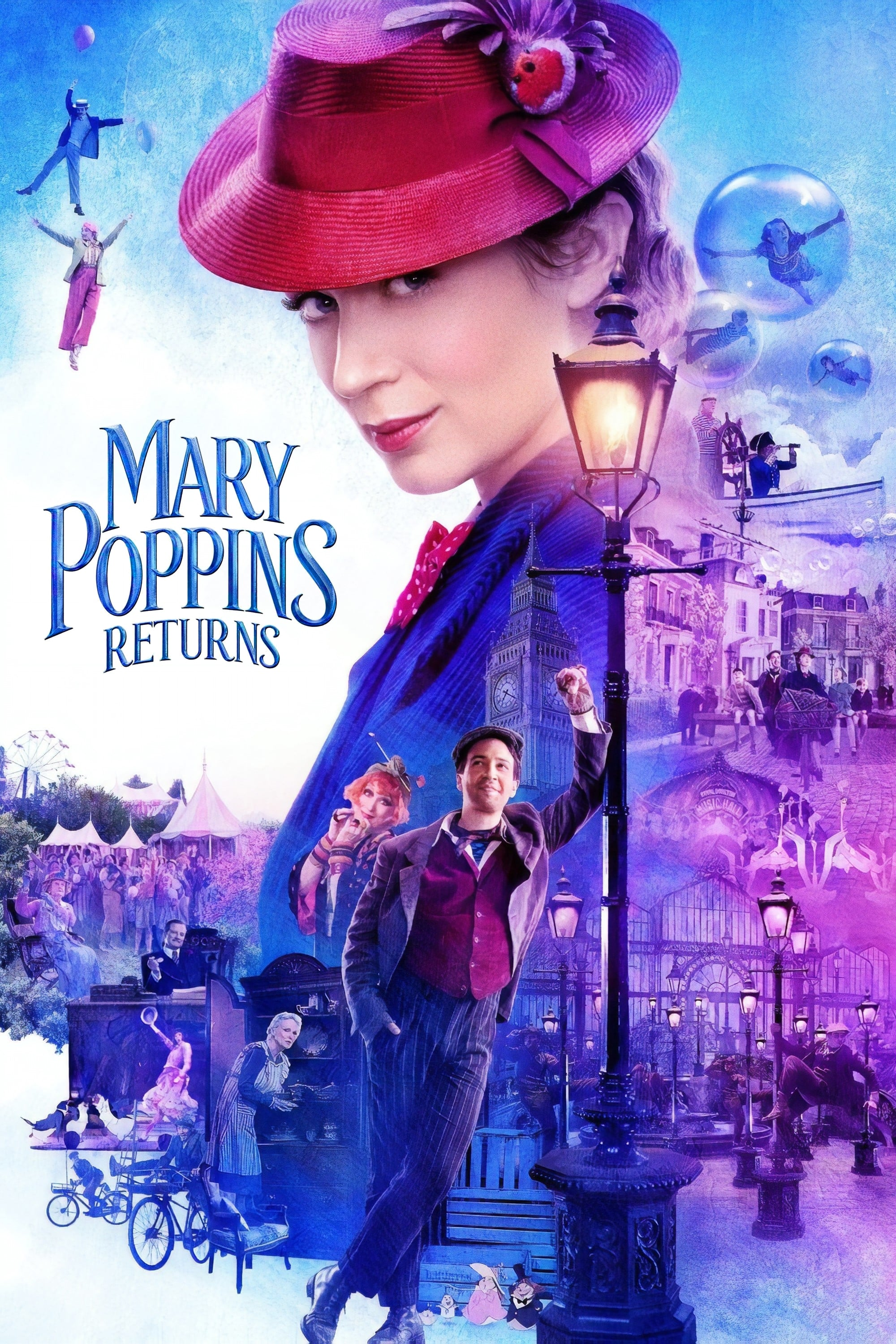 El Regreso de Mary Poppins (2018) HD 1080P LATINO/INGLES