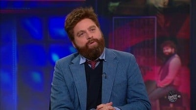 The Daily Show with Trevor Noah Season 15 :Episode 138 Zach Galifianakis