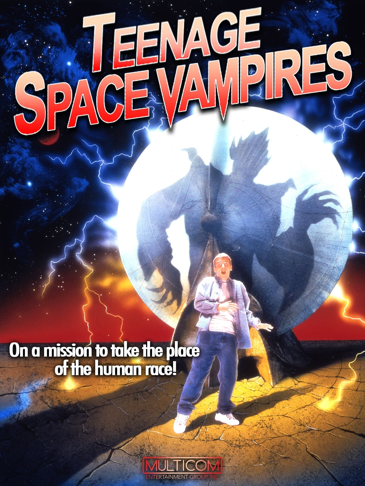 Teenage Space Vampires on FREECABLE TV