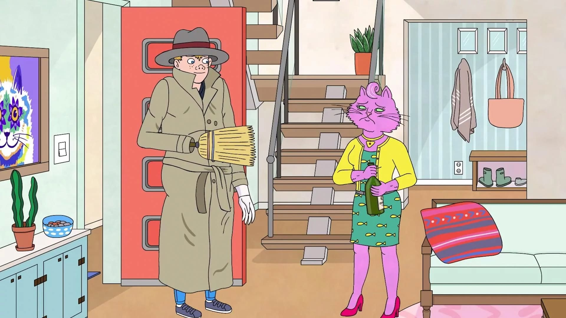 BoJack Horseman Season 2 :Episode 4  After Party
