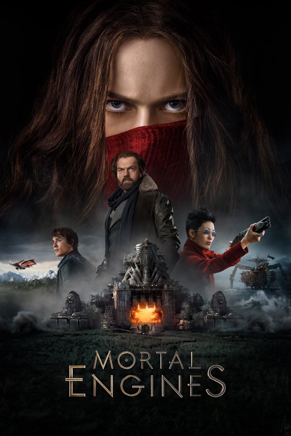 Poster and image movie Film Mortal Engines 2018