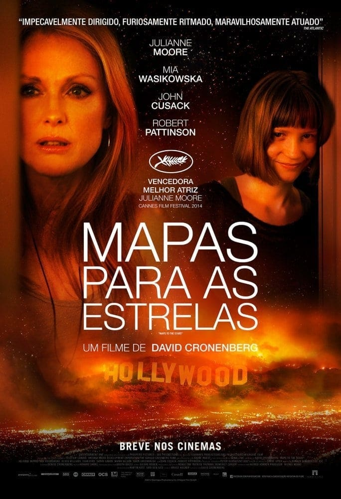 Poster and image movie Maps to the Stars