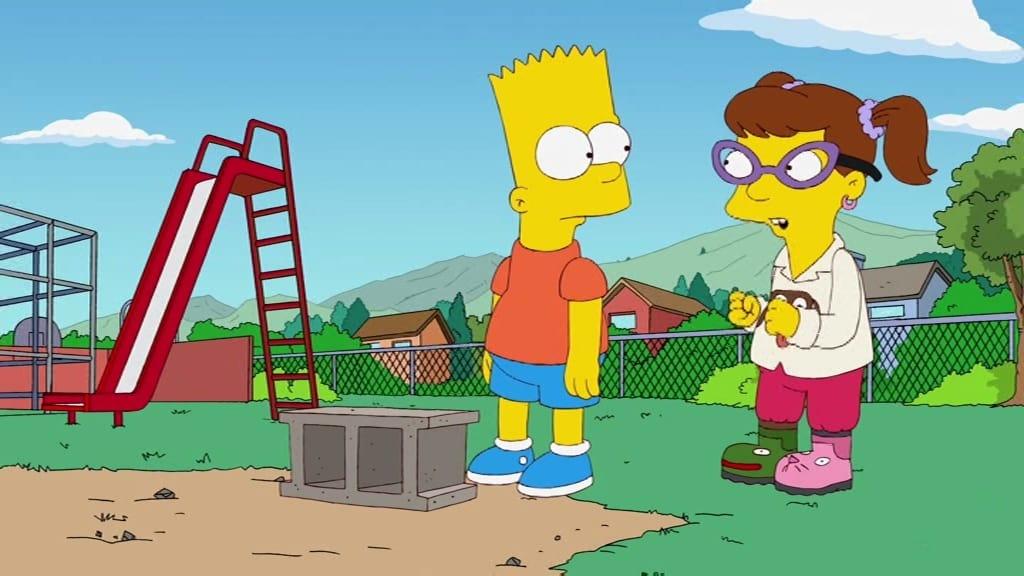 Die Simpsons Season 22 :Episode 11  Moeback Mountain