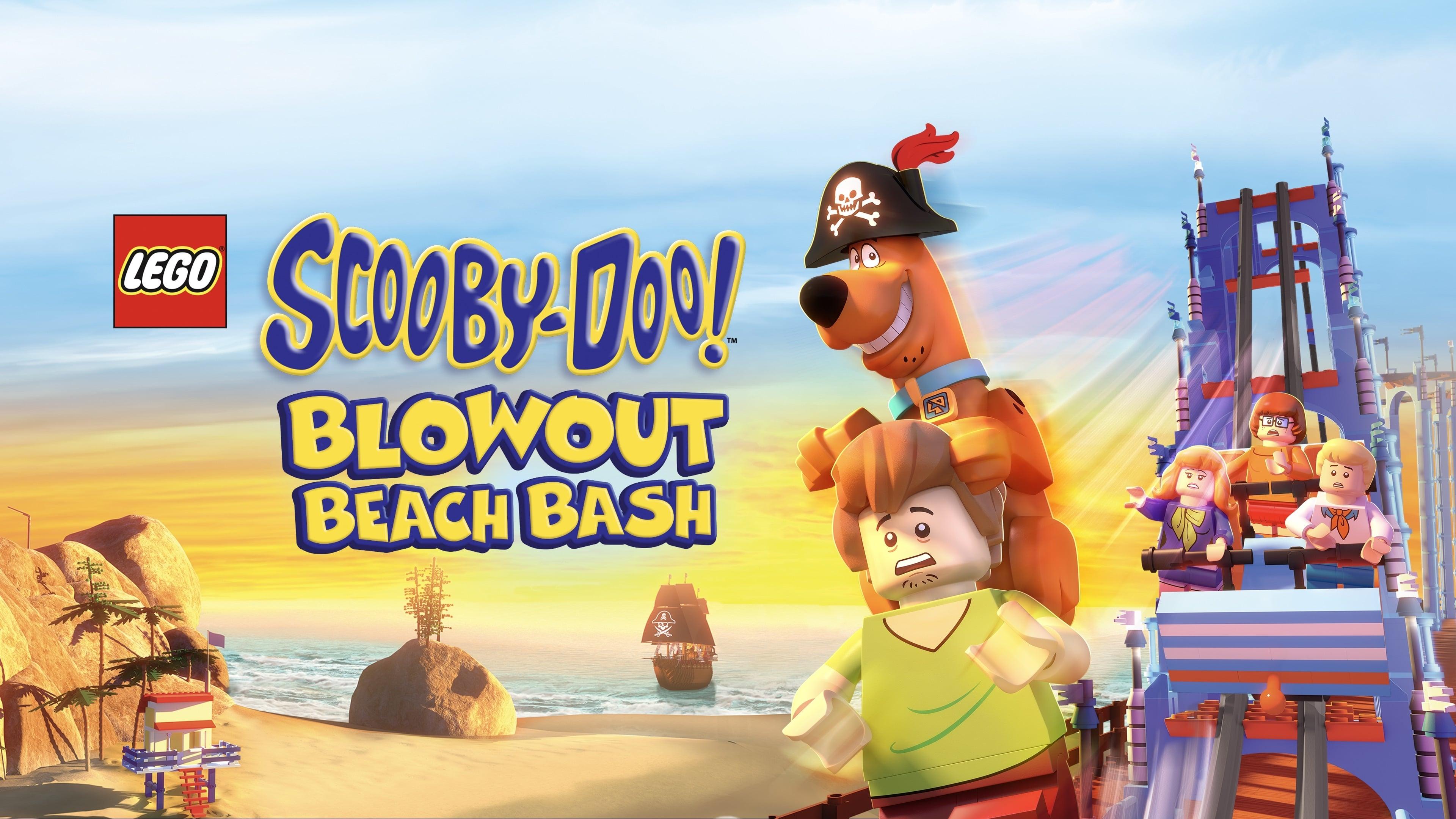 Lego Scooby-Doo Intento de reventon en playa