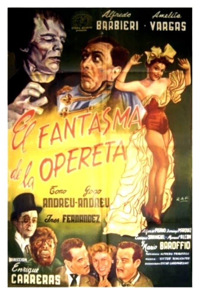 El Fantasma de la Opereta (1955)
