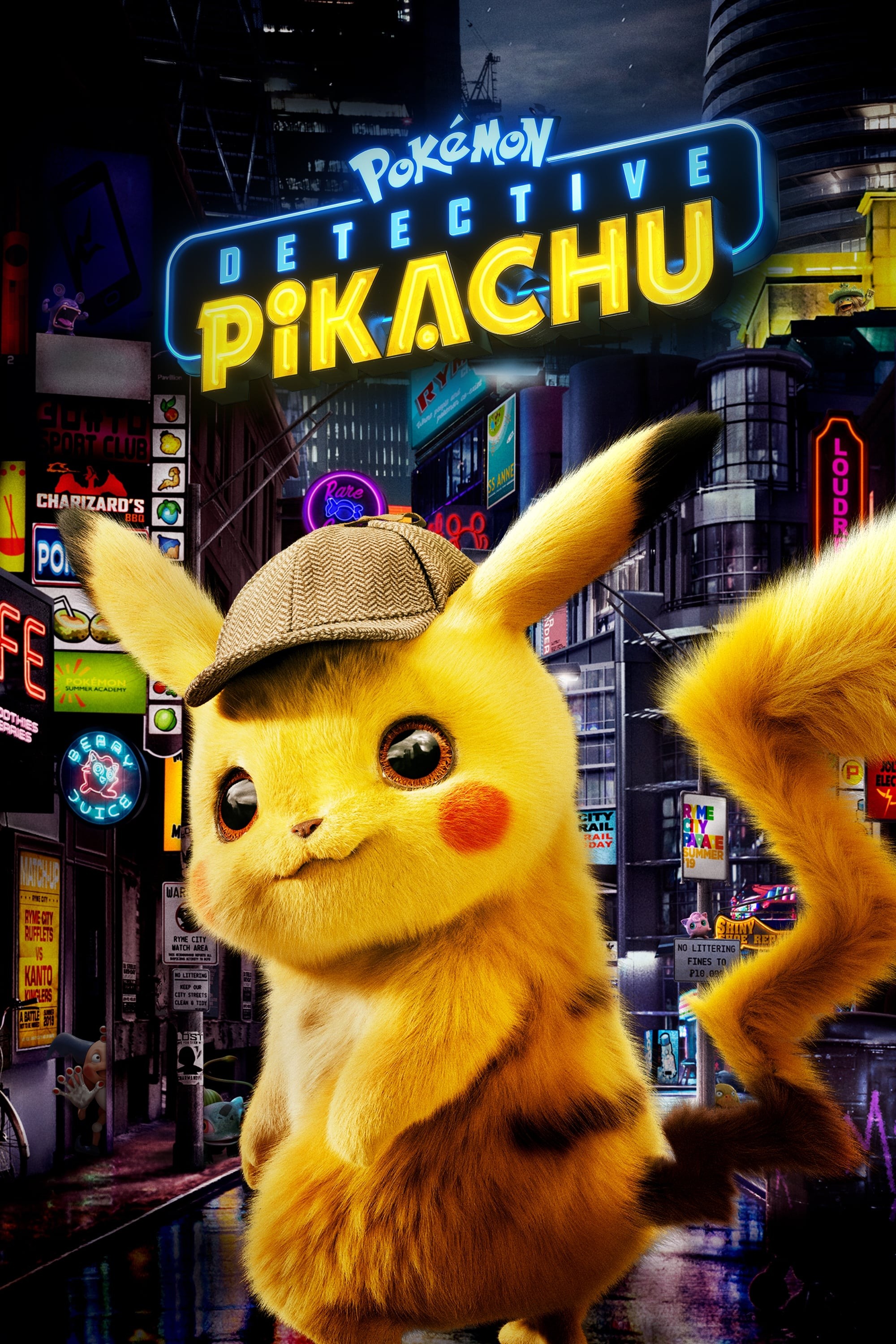 Watch Pokémon Detective Pikachu (2019) Full Movie Online Free - Watch Movies Online HD Quality