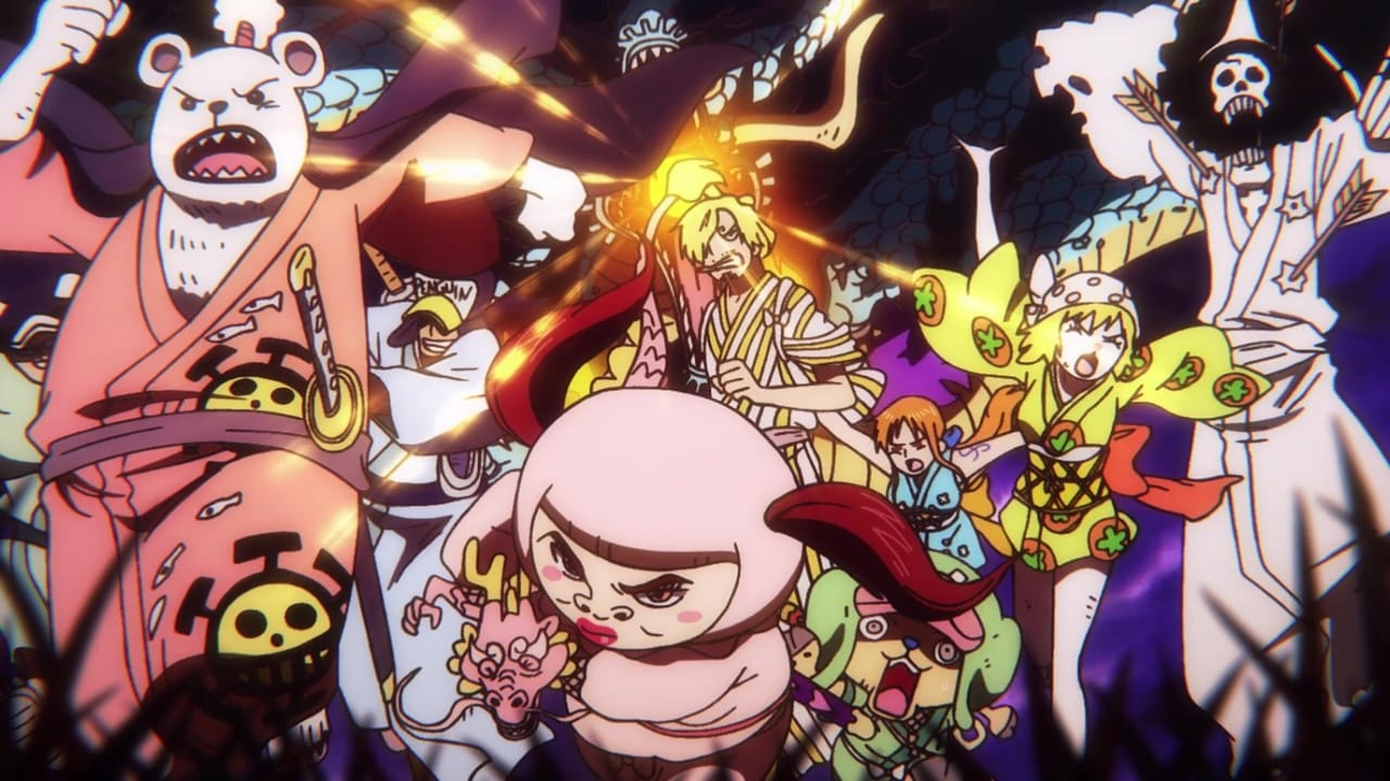 One Piece Season 21 :Episode 913  Everyone is Annihilated! Kaido's Furious Blast Breath!