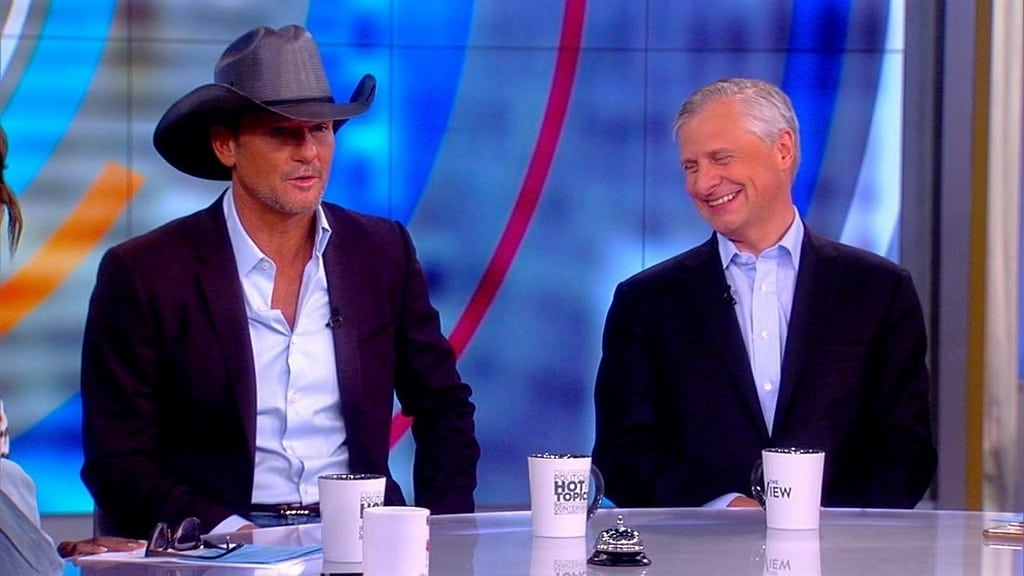The View Season 22 :Episode 176  Tim McGraw & Jon Meacham; Elaine Welteroth