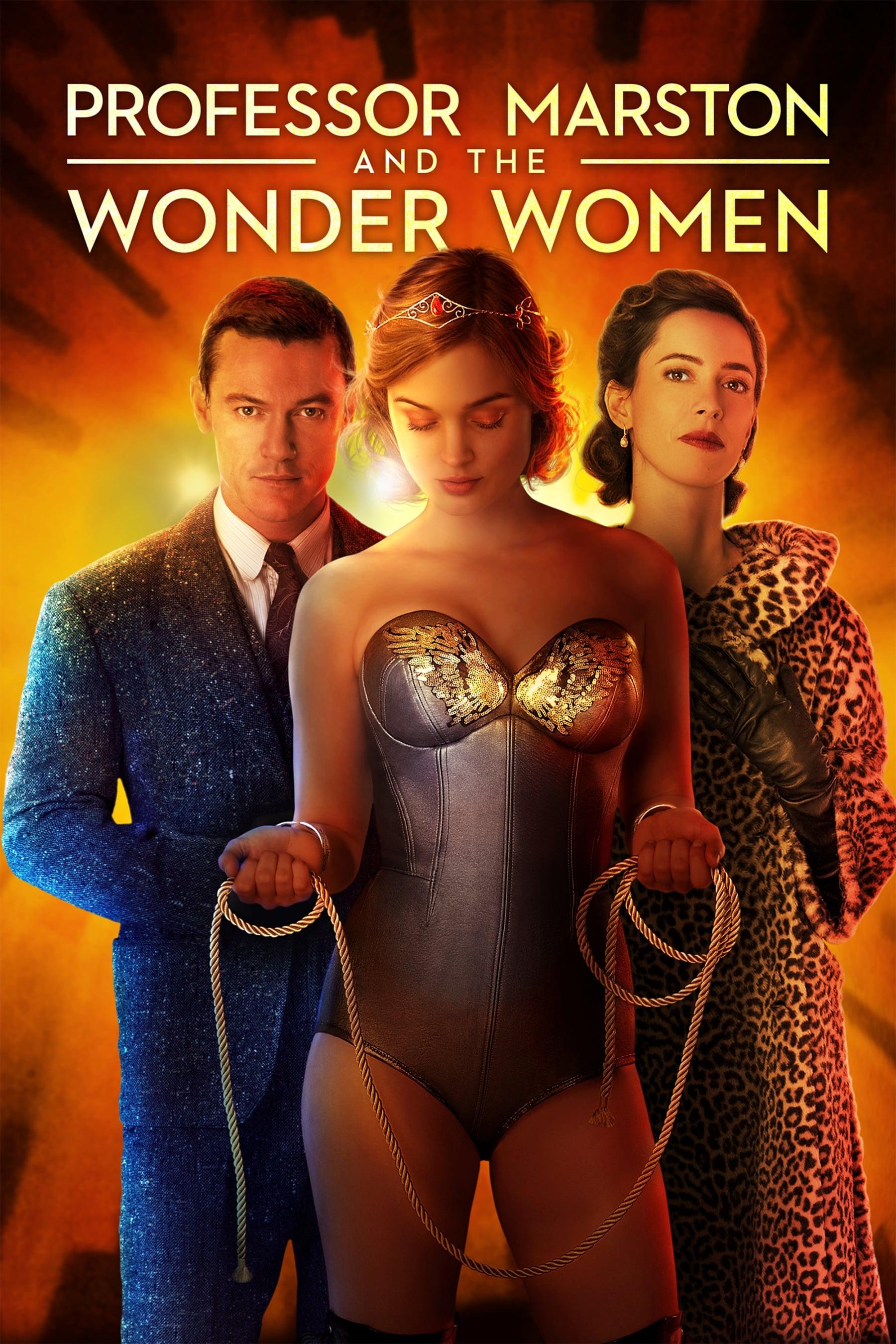Póster Professor Marston & the Wonder Women