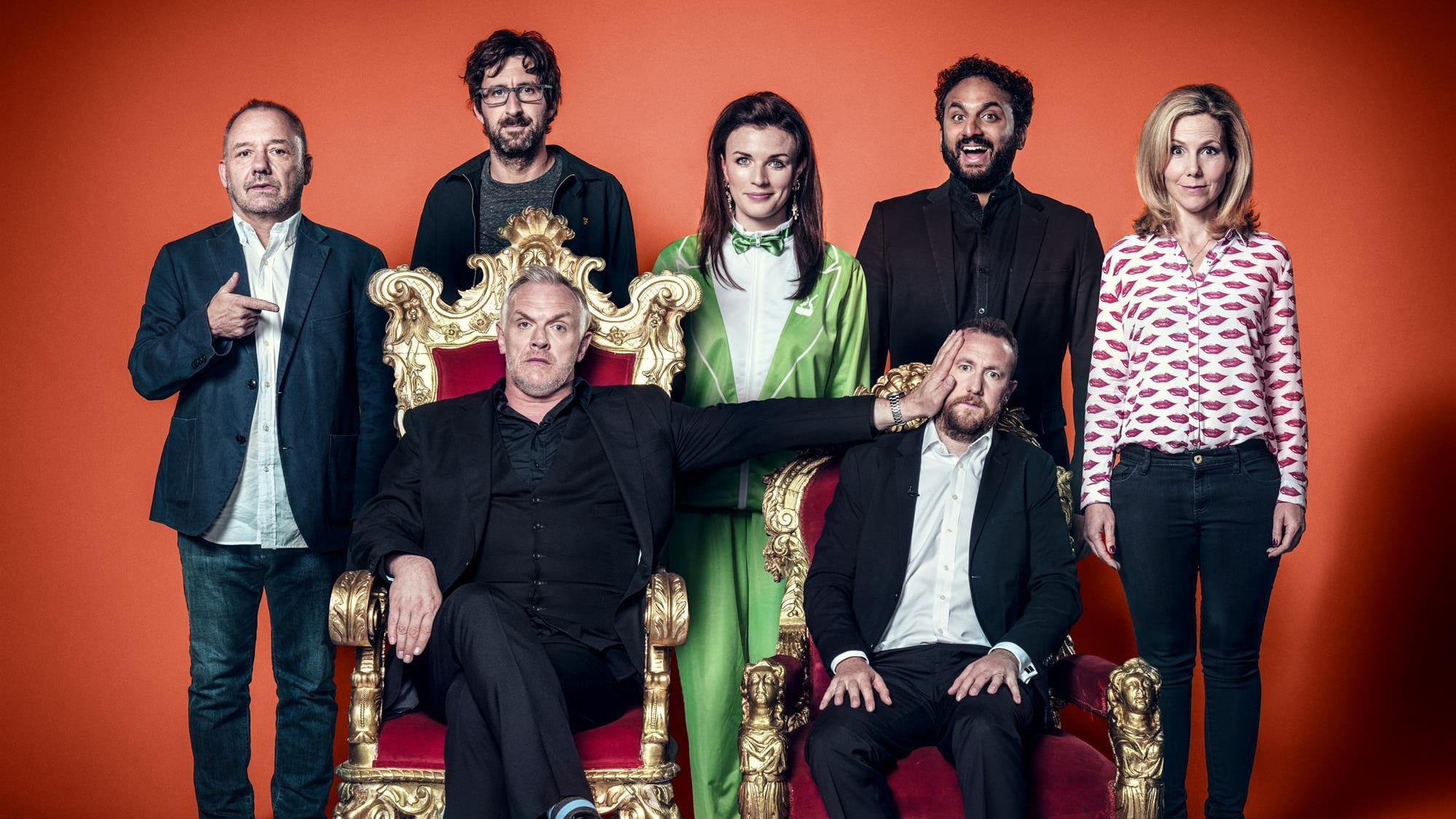 Taskmaster - Season 8 Episode 10 : Clumpy swayey clumsy man.